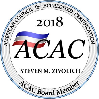 ACAC Board Member Seal Steve Zivolich